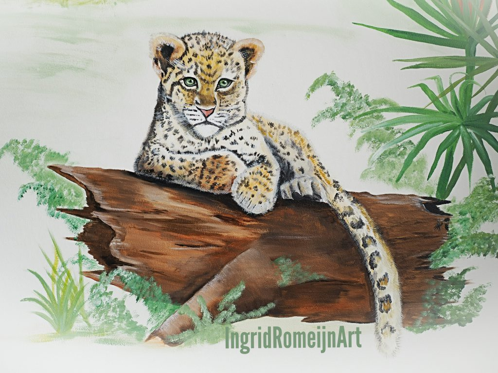 Jungle kinderkamer